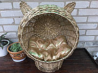 Котодомик, домик лежанка для кошки (подушка в подарок)