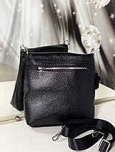 Шкіряна чоловіча сумка-барсетка, фото 3