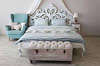 Комплект постельного белья Prestige Евро 200х220 см бирюзовый лайт SKL29-150436