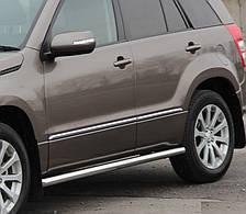 Подножки, Трубы на Suzuki Grand Vitara (c 2015---) Сузуки Гранд Витара PRS