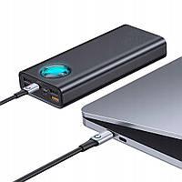 Портативное Зарядное Устройство Power Bank Baseus Amblight Digital Display 33W (PD3.0+QC3.0) 30000mAh black