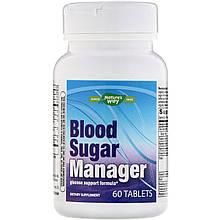 "Комплекс для нормализации уровня сахара в крови Nature's Way ""Blood Sugar Manager"" (60 таблеток)"