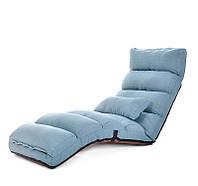 """Кресло-трансформер  """"Лаунж"""", голубой, фото 1"""