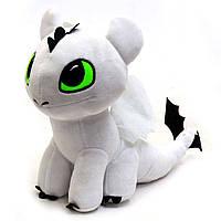 Мягкая игрушка KinderToys «Как приручить дракона?». Любимая игрушка Дракоша Дневное сияние Стефани (00688-3)