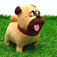 Мягкая игрушка KinderToys Мопс Мэл «Тайная жизнь домашних животных» (00112-71)