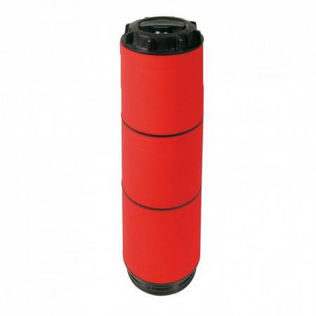 """Картридж дисковый 2"""" стандарт 130 мкм (цвет  красный), фото 2"""