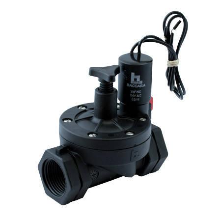"""Клапан электромагнитный Geva 75-S 2"""" (с управлением  потока), фото 2"""
