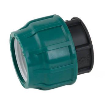 Заглушка компрессионная (63 мм, PoelSan, 10 атм.), фото 2