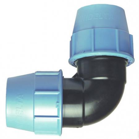 Колено компрессионное (40 мм, Unidelta), фото 2