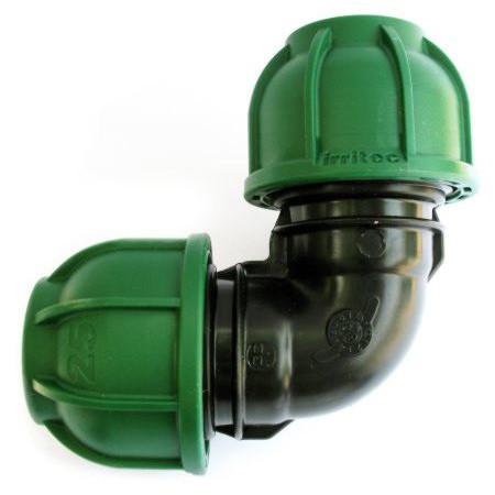 Колено компрессионное (110 мм, Irritec)