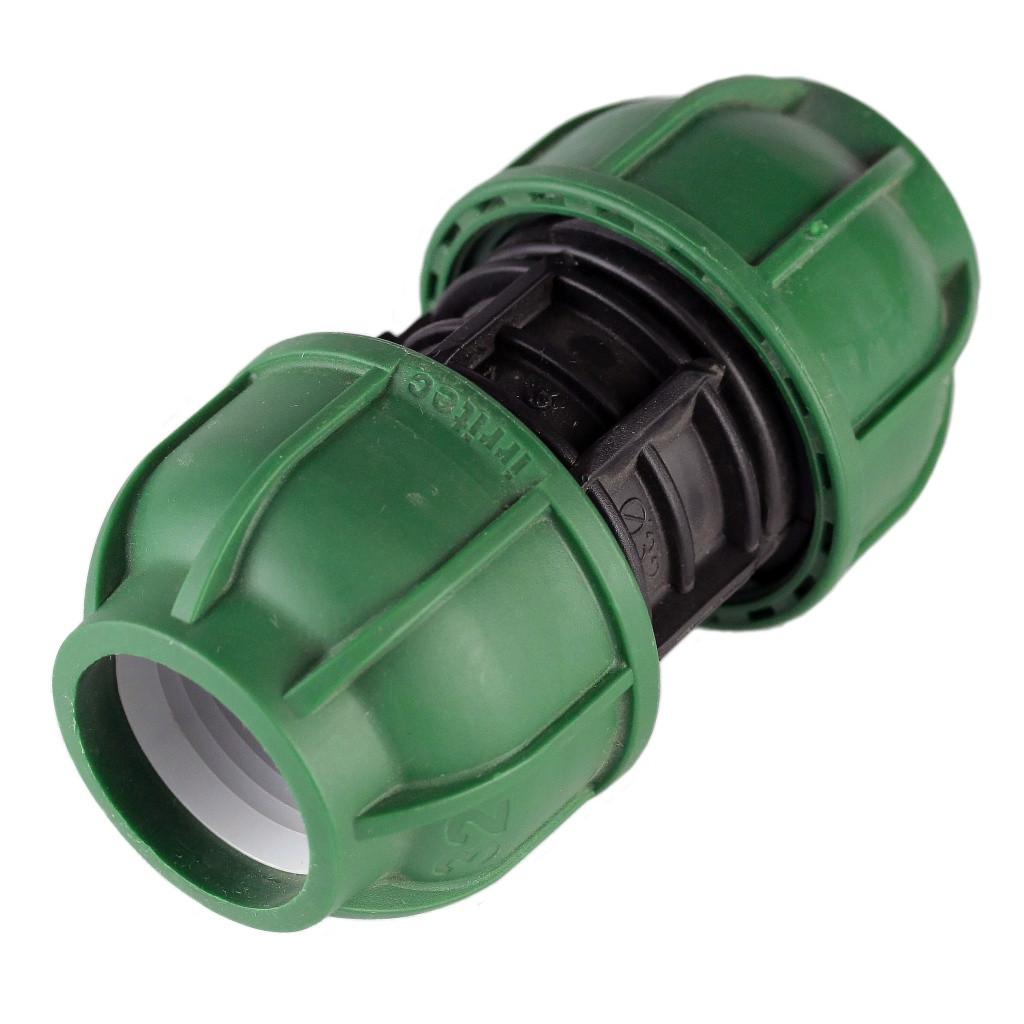 Муфта соединительная компрессионная (25  мм, Irritec)