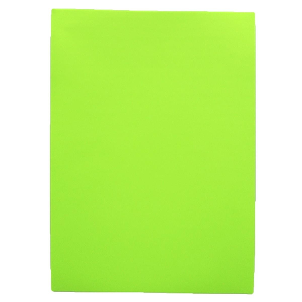 """Фоамиран A4 """"Светло-зеленый"""", толщ. 1,5мм, 10 лист./п. с клеем"""