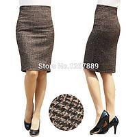 Шерстяная юбка карандаш, фото 1