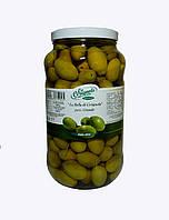 Оливки зеленые с косточкой в рассоле большие LA CERIGNOLA 3100мл