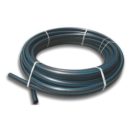 Труба д/водопровода ПЭ-80 10Ат 25 черная