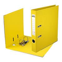 Папка-регистратор Axent двухстах, Prestige, РР 5cм, соб, желтая     1711-08C-A