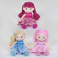 Кукла мягкая 3 вида, 33 см SKL11-228224