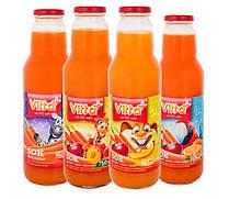 Сок детский Vitta Plus в ассортименте 4 вкуса 750 мл Польша