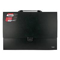 Портфель Axent А3 на 1 отделение, черный    1611-01-A