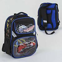 Рюкзак школьный с 2 отделениями и 4 карманами, ортопедическая спинка, 3D принт SKL11-186154