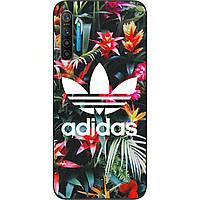 Силиконовый чехол для Realme X2 с картинкой Adidas