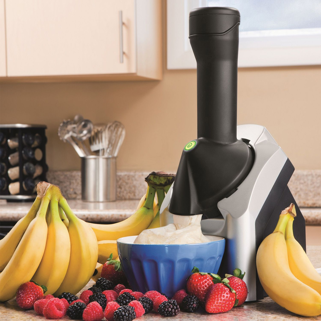 Мороженица Yonanas Healthy Dessert Maker, 200Вт, серая
