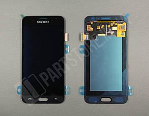 Дисплей Samsung j320 Black j3 2016 (GH97-18414C) сервисный оригинал, фото 2
