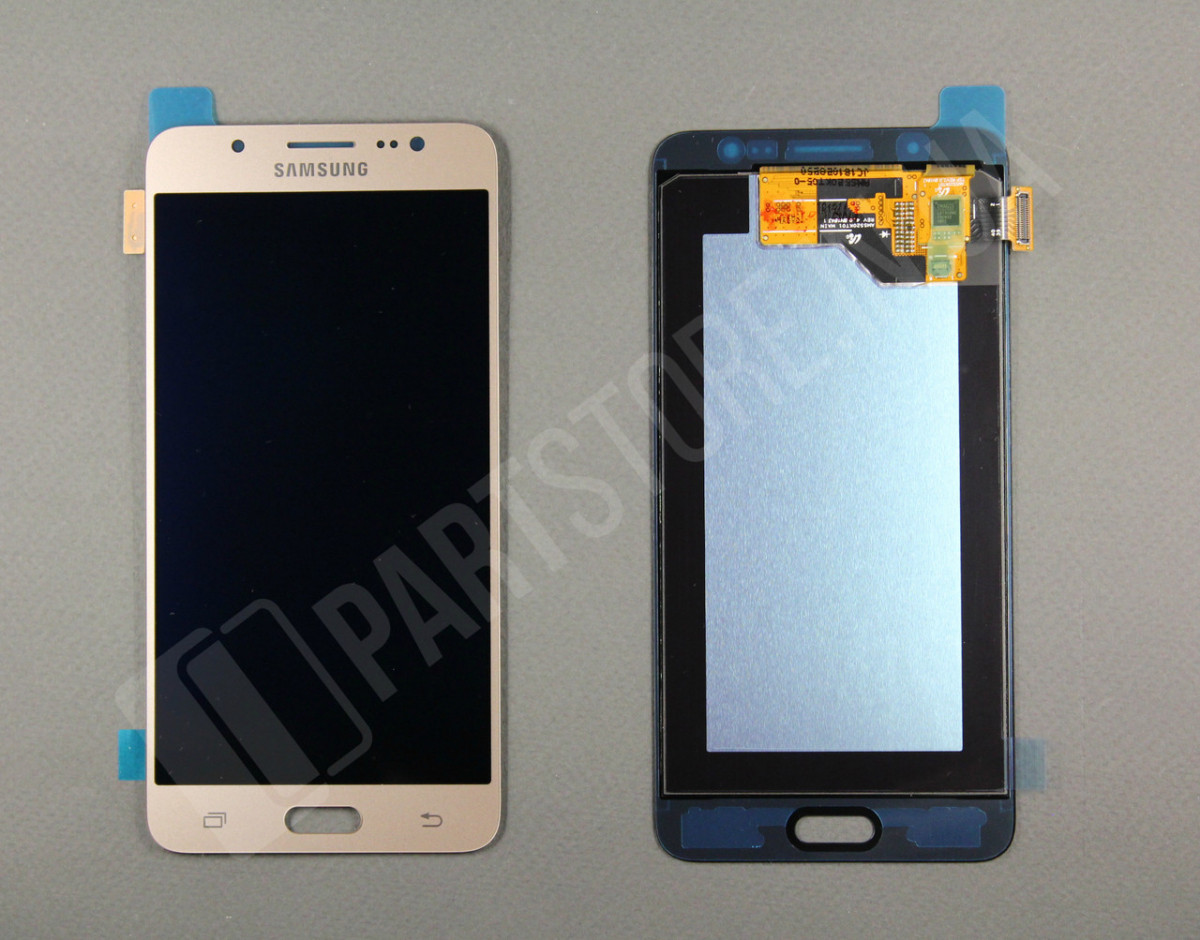 Дисплей Samsung j510 Gold j5 2016 (GH97-19466A) сервисный оригинал - фото 2