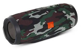 Портативная bluetooth колонка MP3 плеер E3 CHARGE3 waterproof водонепроницаемая Power Bank Camo