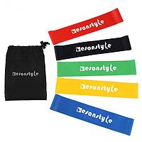 Набор резинок для фитнеса Esonstyle 5шт в комплекте, фото 1