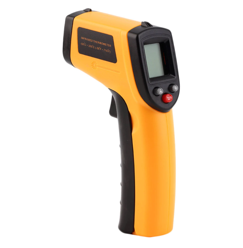 Промышленный градусник TEMPERATURE AR 320, бесконтактный электронный термометр, инфракрасный термометр