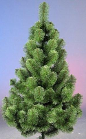Сосна искусственная 2.2 метра зеленая. Сосна ПВХ 220 см зеленая