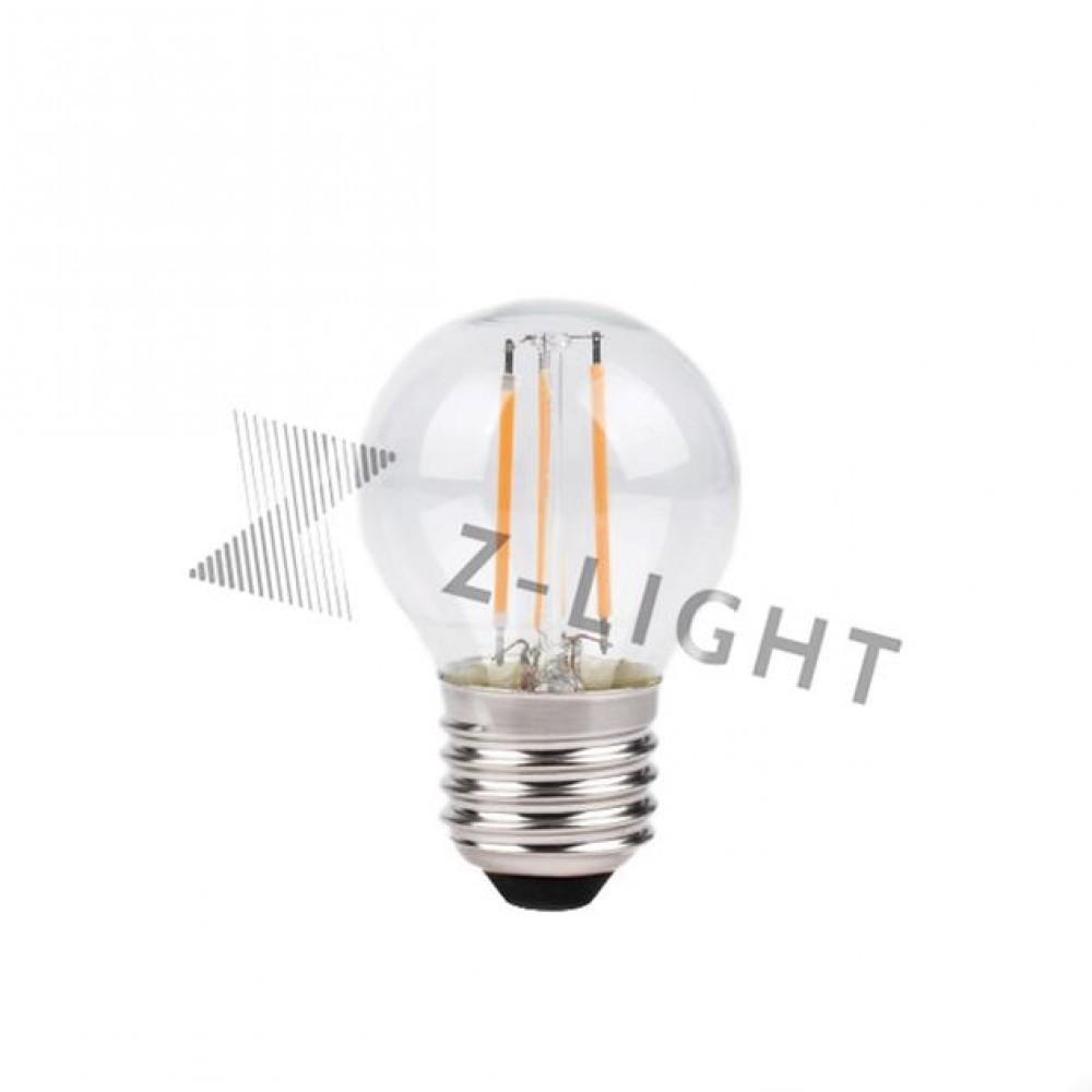 "LED лампа филаментная Z-Light ""шарик"" 5W E27 4000K ZL14505274FG"