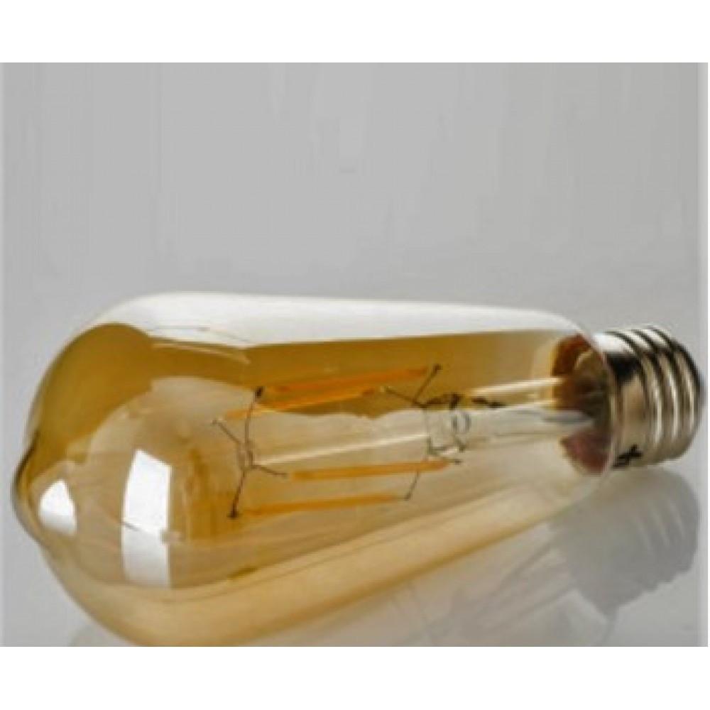 "LED лампа филаментная Z-Light ""Колба"" 8W E27 2200К Gold ZL16408272FG"