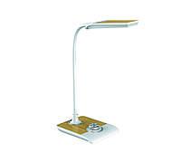 LED Светильник настольный Z-Light ZL50022 8W белый с дубовой вставкой