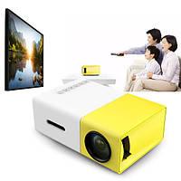 Портативный проектор YJ-300 Full HD с динамиком 600Лм, фото 1