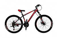 """Велосипед Titan Spider 26"""" 15"""" Чёрный-Красный-Белый"""