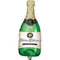 Фольгированный мини-шар Бутылка шампанского (Anagram)