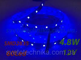 Лента светодиодная 4,8 wat синий  цвет