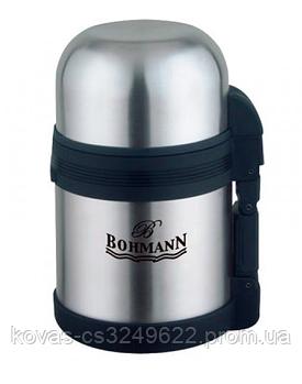 Термос Bohmann пищевой из нержавеющей стали - 1 л