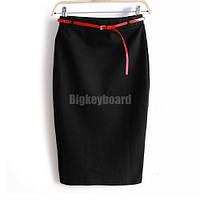 Элегантная юбка карандаш в расцветке, фото 1