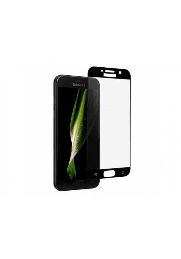 Скло GLASS для Samsung A520/A5 Чорне (909904587)