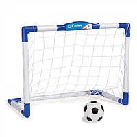 Детский игровой набор для игры в футбол с воротами