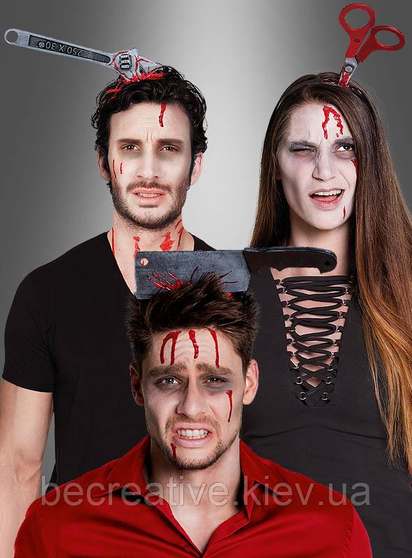 Страшный головной убор на хэллоуин