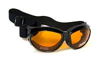Защитные солнечные очки Global Vision Eliminator на резинке с оранжевыми линзами