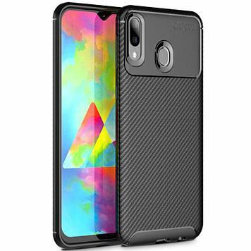 TPU чехол iPaky Kaisy Series для Samsung Galaxy M20 Черный (685816)