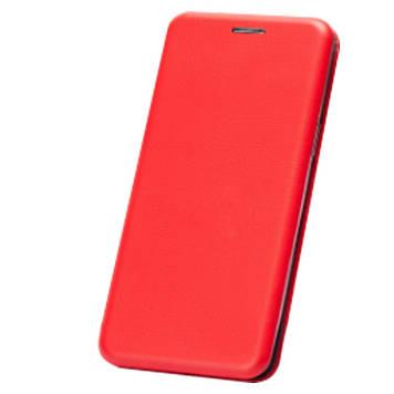 Шкіряний чохол-книжка Epik Classy для Samsung Galaxy A10 (A105F) Червоний (707155)