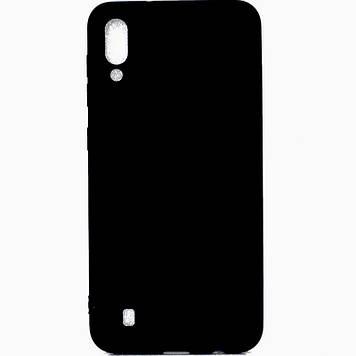 Силиконовый чехол Epik Candy для Samsung Galaxy M10 Черный (691952)