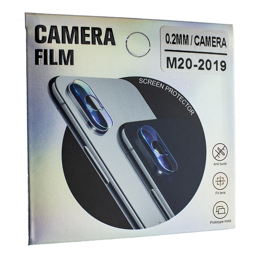 Защитное стекло Wsfive для камеры Samsung Galaxy M20 2019 M205 Прозрачный (00007659)