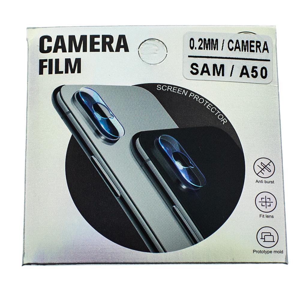 Защитное стекло Wsfive для камеры Samsung Galaxy A50 2019 A505 Прозрачный (00007182)